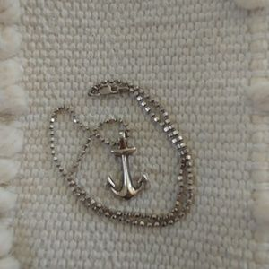 Jewelry - Sterling Silver Anchor Necklace